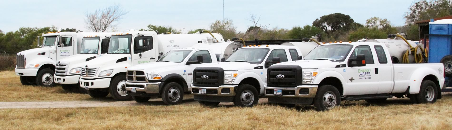 Our Fleet is always ready to roll!